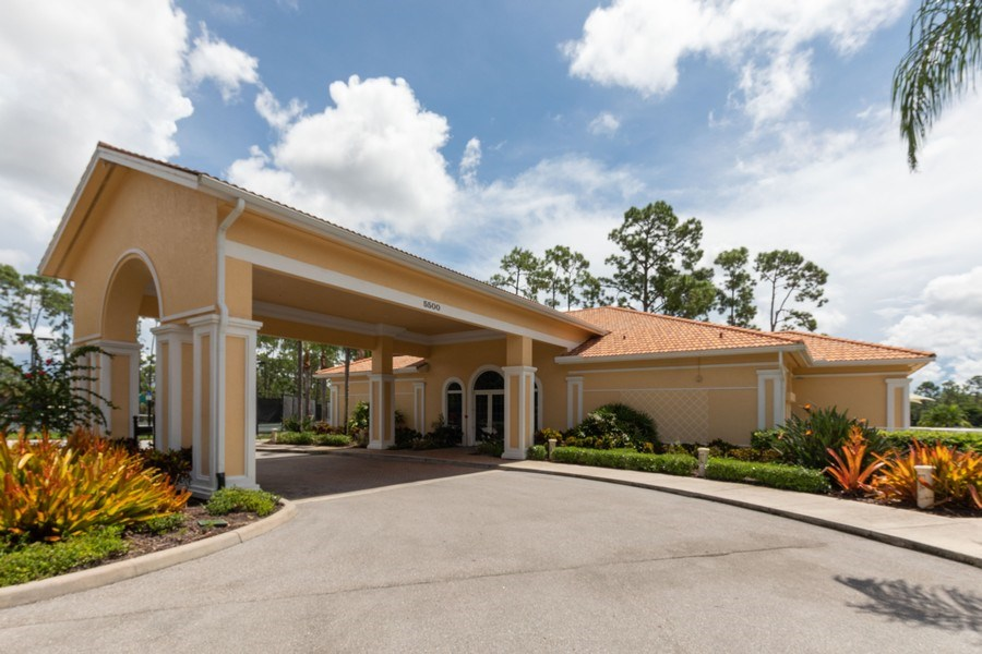 Real Estate Photography - 5892 Northridge Dr, Naples, FL, 34110 - Clubhouse