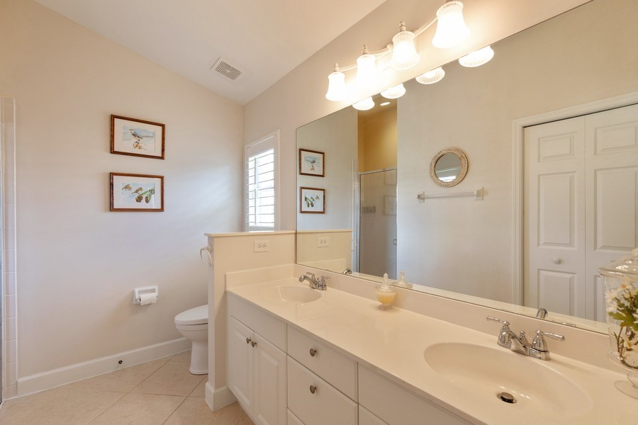 Real Estate Photography - 5892 Northridge Dr, Naples, FL, 34110 - Master Bathroom