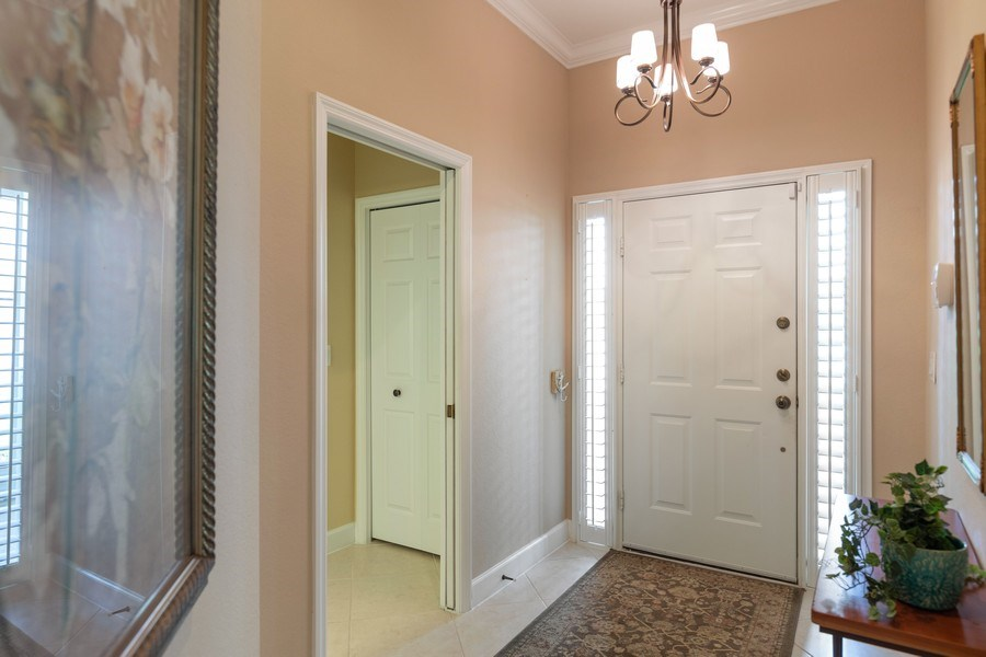 Real Estate Photography - 5892 Northridge Dr, Naples, FL, 34110 - Foyer