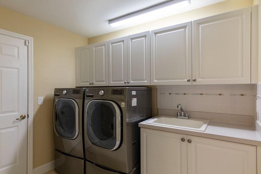 Real Estate Photography - 5892 Northridge Dr, Naples, FL, 34110 - Laundry Room
