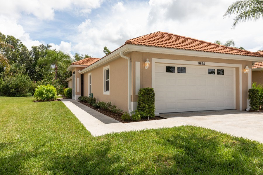 Real Estate Photography - 5892 Northridge Dr, Naples, FL, 34110 - Front View