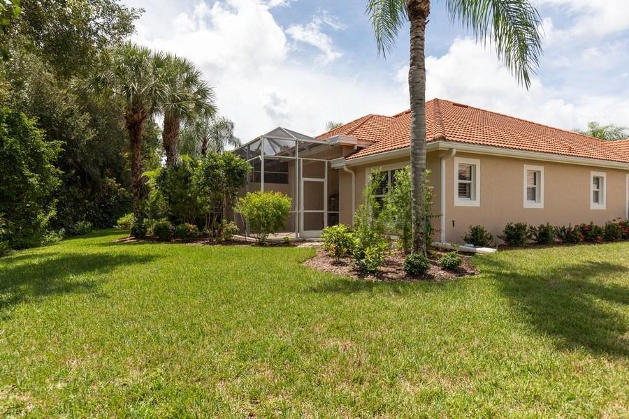 Real Estate Photography - 5892 Northridge Dr, Naples, FL, 34110 - Rear View