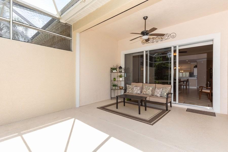 Real Estate Photography - 5892 Northridge Dr, Naples, FL, 34110 - Lanai