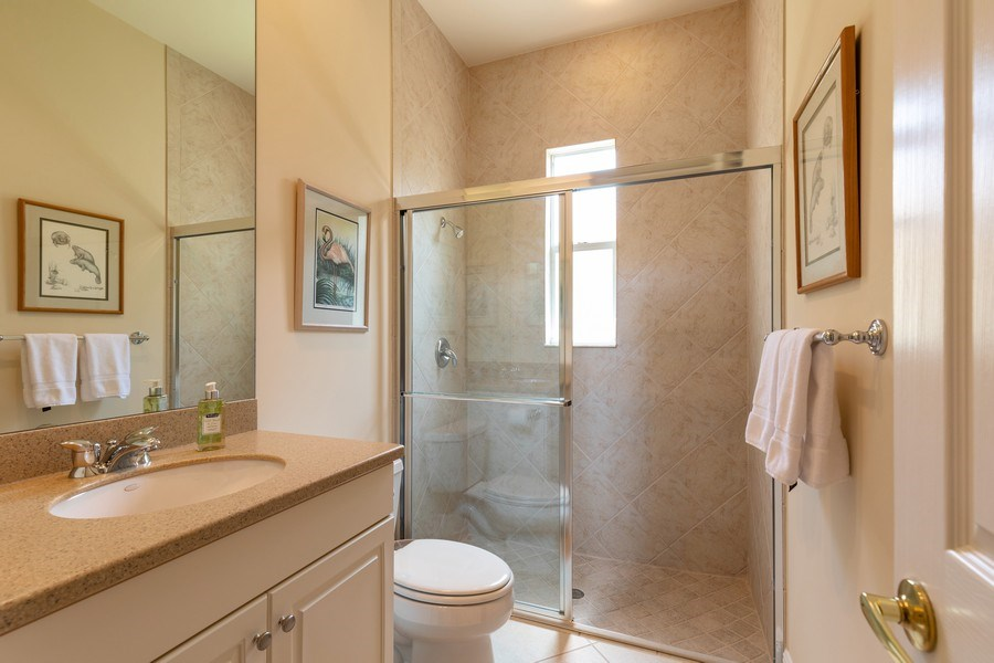 Real Estate Photography - 18240 Parkside Greens Drive, Ft Myers, FL, 33908 - 3rd Bathroom