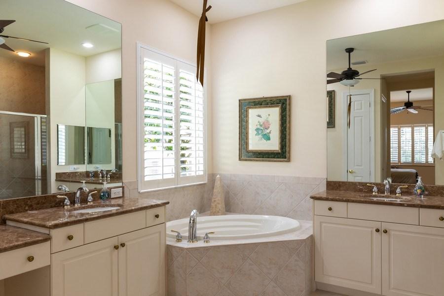 Real Estate Photography - 18240 Parkside Greens Drive, Ft Myers, FL, 33908 - Master Bathroom