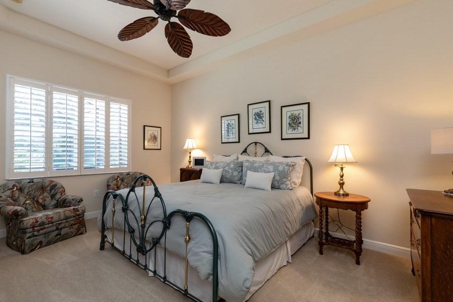 Real Estate Photography - 18240 Parkside Greens Drive, Ft Myers, FL, 33908 - Master Bedroom