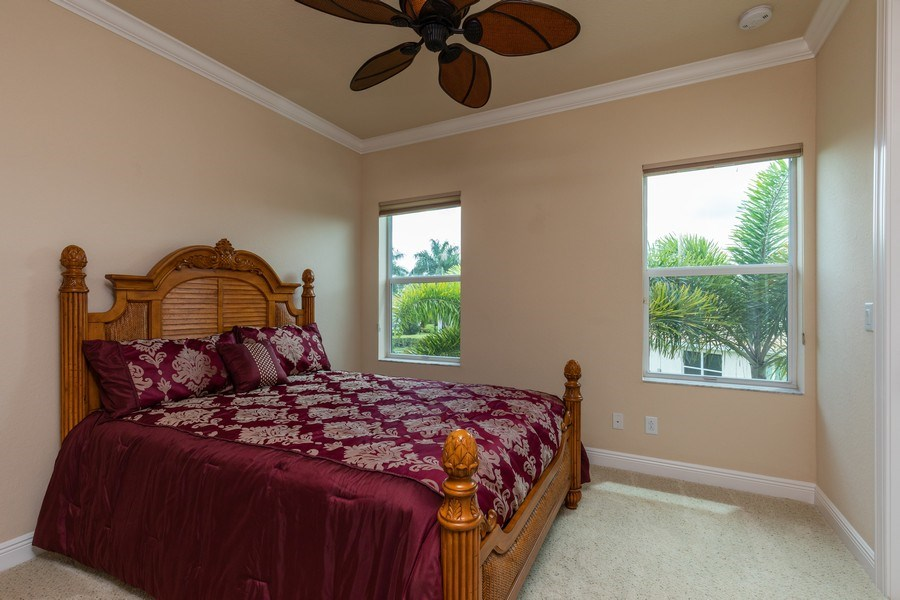 Real Estate Photography - 7786 Martino Circle, Naples, FL, 34112 - 2nd Bedroom