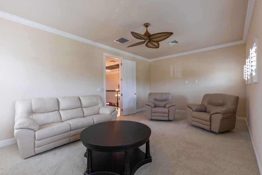 Real Estate Photography - 7786 Martino Circle, Naples, FL, 34112 - Bonus Room