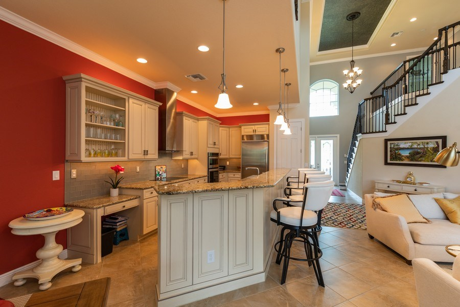 Real Estate Photography - 7786 Martino Circle, Naples, FL, 34112 - Kitchen