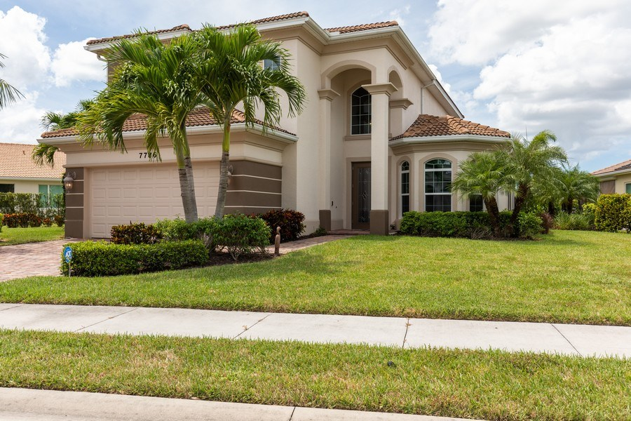 Real Estate Photography - 7786 Martino Circle, Naples, FL, 34112 - Front View