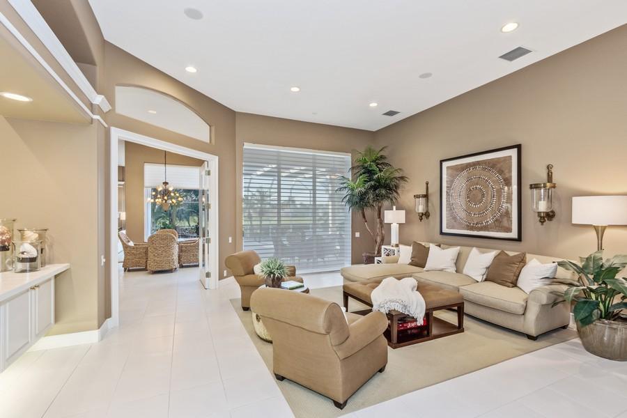 Real Estate Photography - 19583 Vintage Trace Cir, Estero, FL, 33967 - Living Room