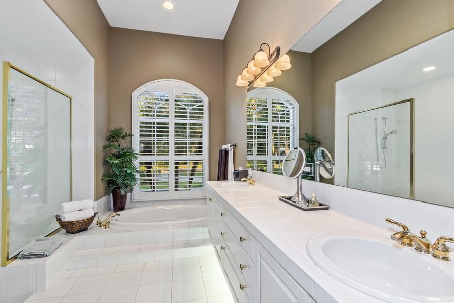 Real Estate Photography - 19583 Vintage Trace Cir, Estero, FL, 33967 - Master Bathroom