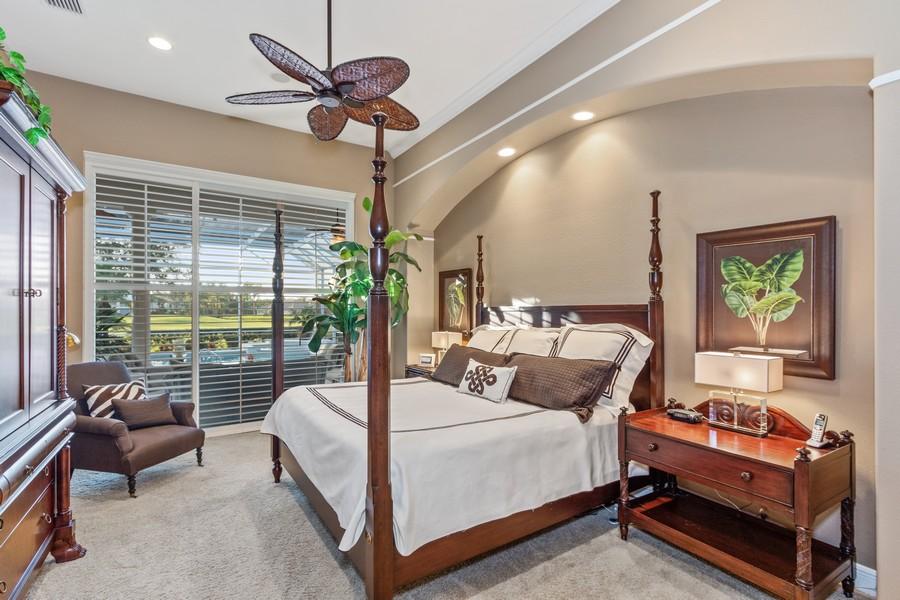 Real Estate Photography - 19583 Vintage Trace Cir, Estero, FL, 33967 - Master Bedroom