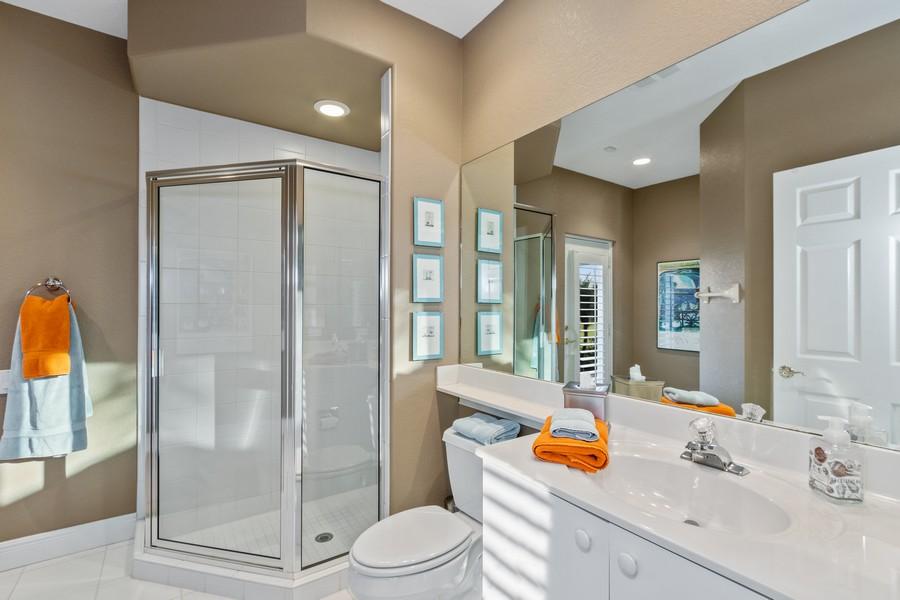 Real Estate Photography - 19583 Vintage Trace Cir, Estero, FL, 33967 - 2nd Bathroom