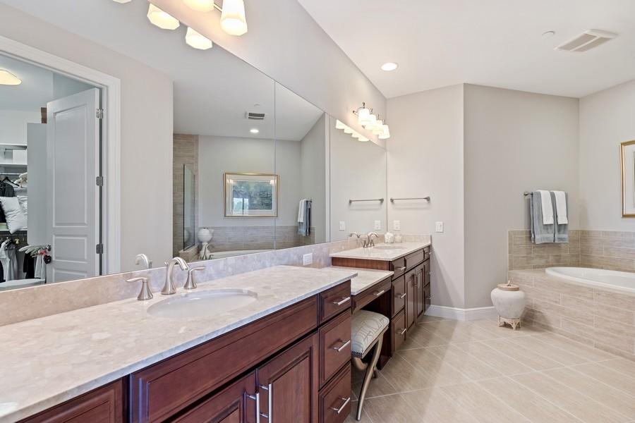 Real Estate Photography - 2768 Tiburon Blvd E, #302, Naples, FL, 34109 - Master Bathroom