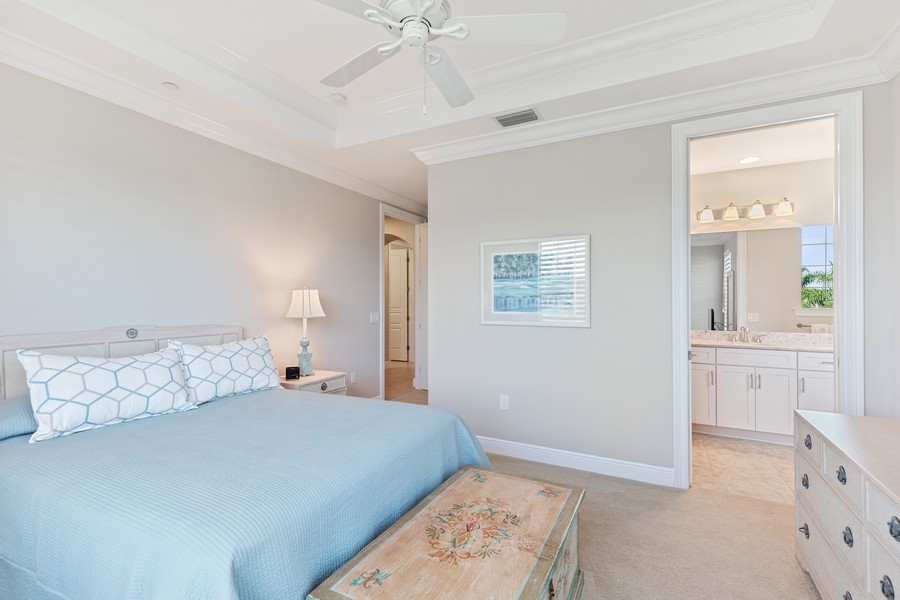 Real Estate Photography - 2768 Tiburon Blvd E, #302, Naples, FL, 34109 - 2nd Bedroom