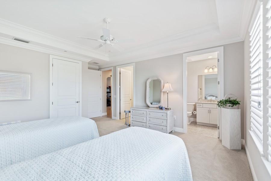 Real Estate Photography - 2768 Tiburon Blvd E, #302, Naples, FL, 34109 - 3rd Bedroom