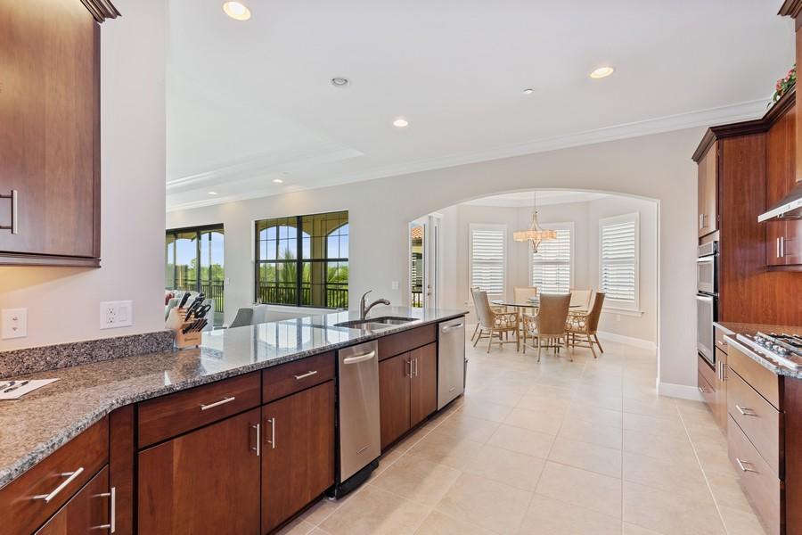 Real Estate Photography - 2768 Tiburon Blvd E, #302, Naples, FL, 34109 - Kitchen