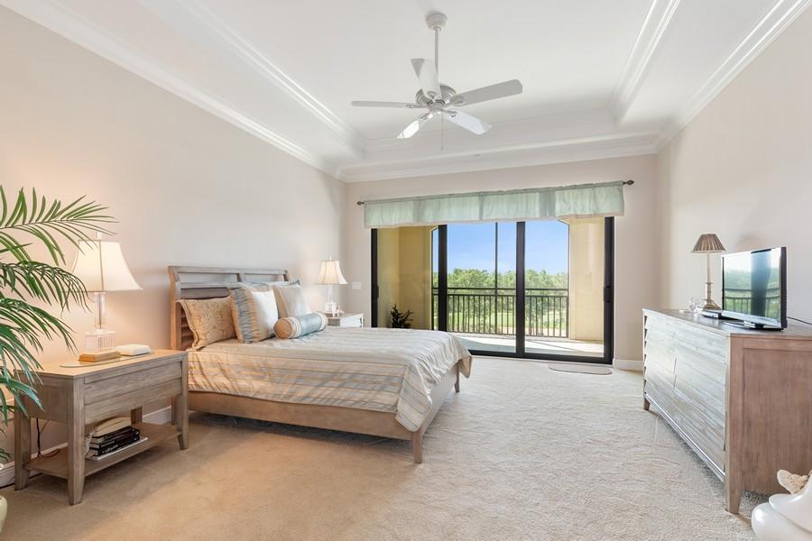 Real Estate Photography - 2768 Tiburon Blvd E, #302, Naples, FL, 34109 - Master Bedroom