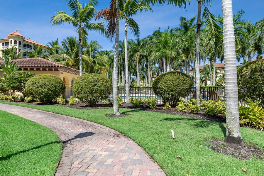 Real Estate Photography - 2768 Tiburon Blvd E, #302, Naples, FL, 34109 - Pool