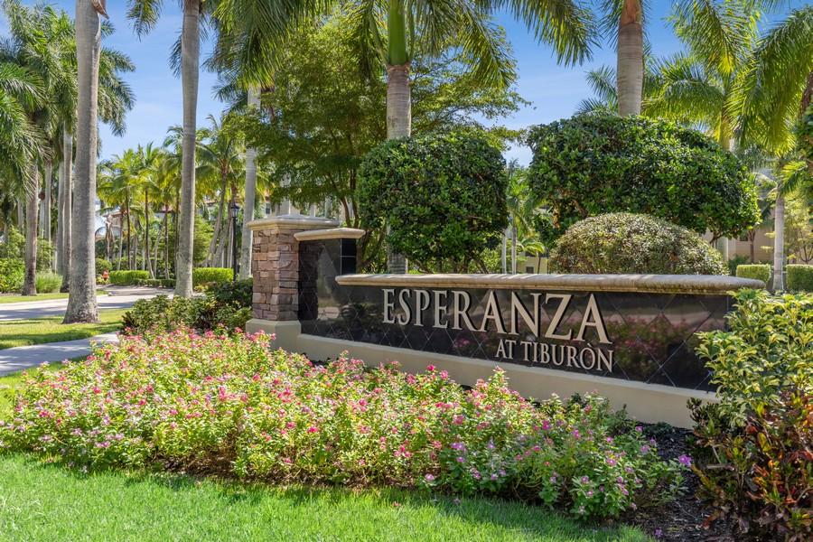 Real Estate Photography - 2768 Tiburon Blvd E, #302, Naples, FL, 34109 - Entrance