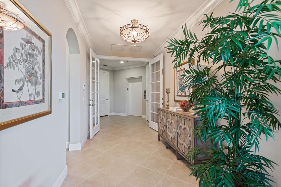 Real Estate Photography - 2768 Tiburon Blvd E, #302, Naples, FL, 34109 - Foyer