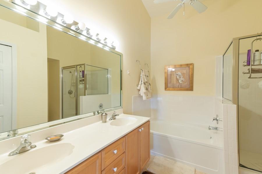 Real Estate Photography - 13141 Hamilton Harbour Drive P-1, Naples, FL, 34110 - Master Bathroom