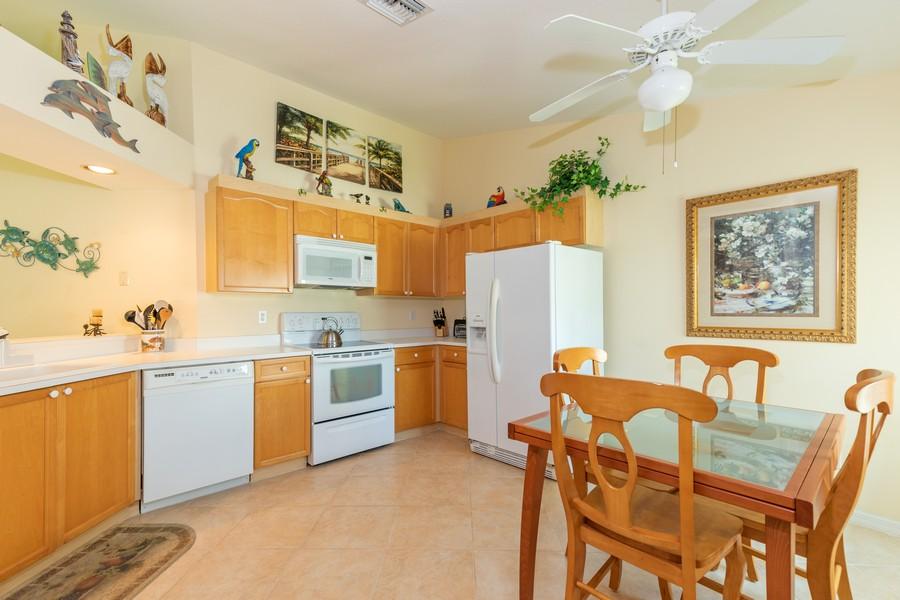 Real Estate Photography - 13141 Hamilton Harbour Drive P-1, Naples, FL, 34110 - Kitchen