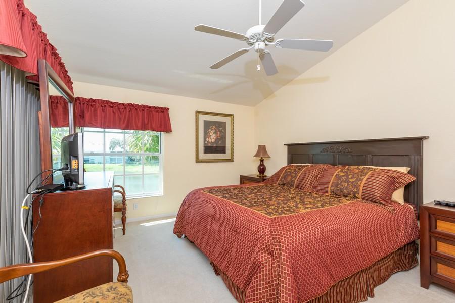 Real Estate Photography - 13141 Hamilton Harbour Drive P-1, Naples, FL, 34110 - Master Bedroom