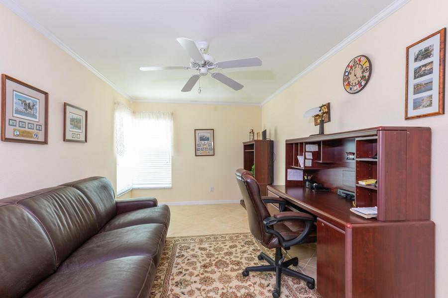 Real Estate Photography - 13141 Hamilton Harbour Drive P-1, Naples, FL, 34110 - Office