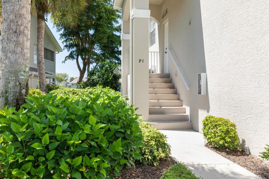 Real Estate Photography - 13141 Hamilton Harbour Drive P-1, Naples, FL, 34110 - Front View