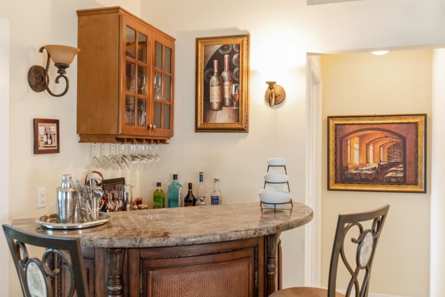 Real Estate Photography - 13141 Hamilton Harbour Drive P-1, Naples, FL, 34110 - Bar