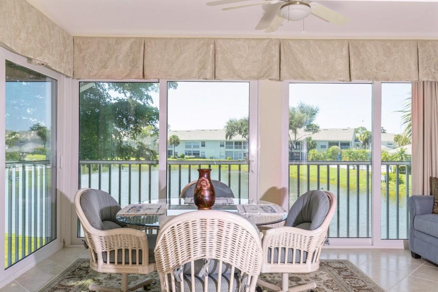 Real Estate Photography - 13141 Hamilton Harbour Drive P-1, Naples, FL, 34110 - Lanai