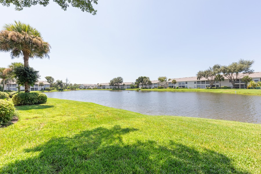 Real Estate Photography - 13141 Hamilton Harbour Drive P-1, Naples, FL, 34110 - Lake View