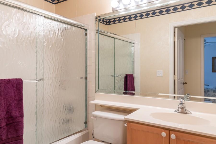 Real Estate Photography - 13141 Hamilton Harbour Drive P-1, Naples, FL, 34110 - 2nd Bathroom
