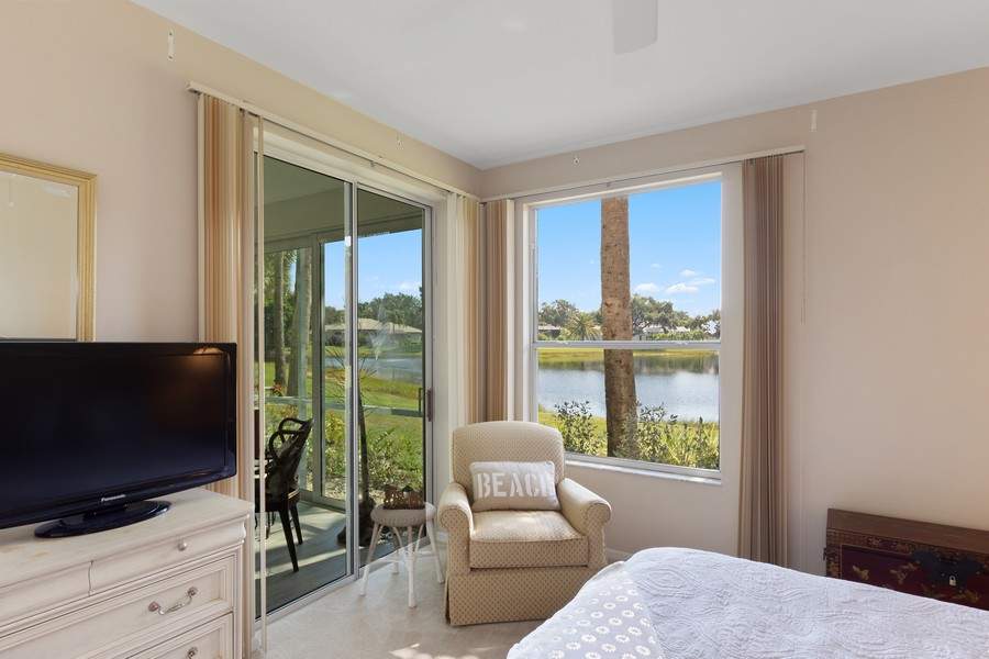 Real Estate Photography - 24796 Lakemont Cove Ln, 101, Bonita Springs, FL, 34134 - Master Bedroom