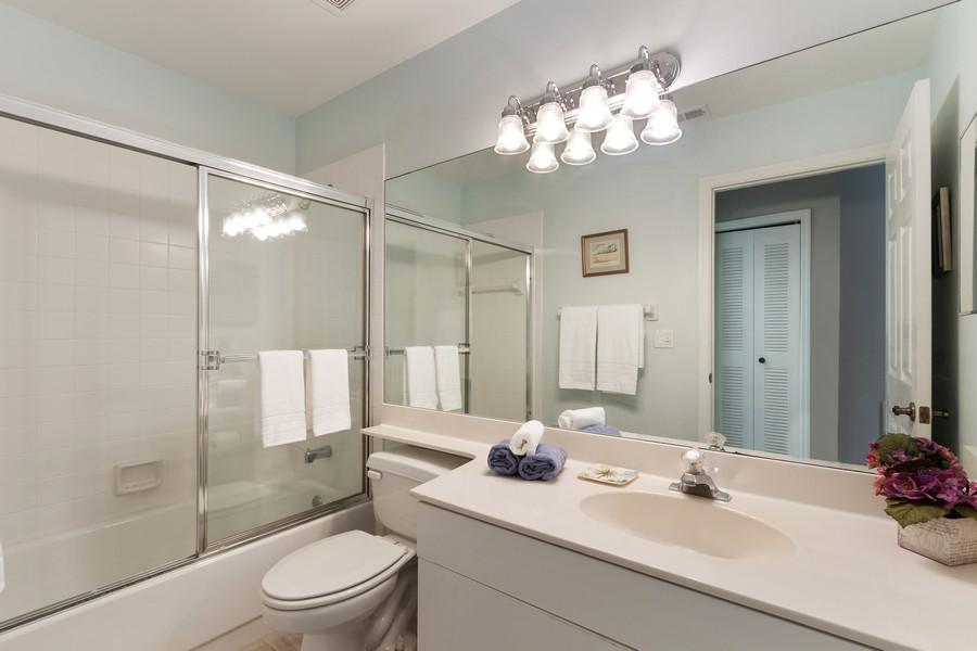 Real Estate Photography - 24796 Lakemont Cove Ln, 101, Bonita Springs, FL, 34134 - 2nd Bathroom