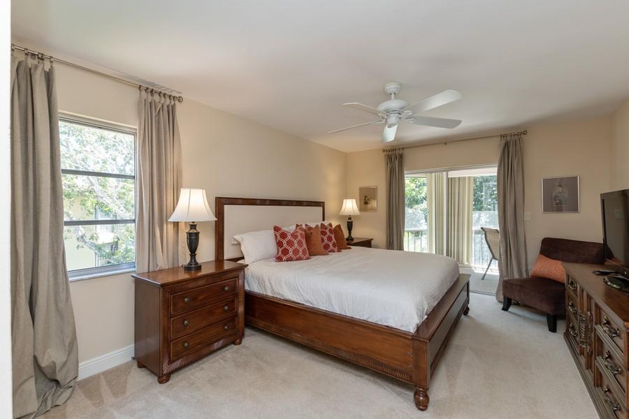 Real Estate Photography - 3200 Binnacle Drive, F3, Naples, FL, 34103 - Master Bedroom