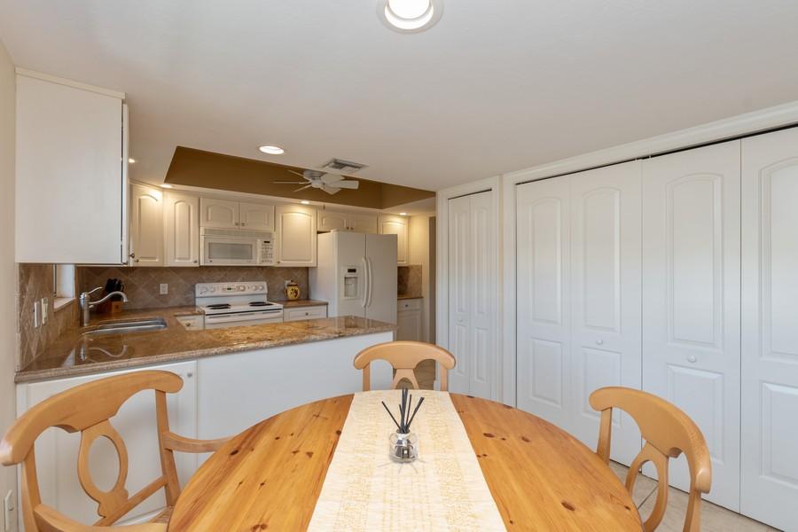 Real Estate Photography - 3200 Binnacle Drive, F3, Naples, FL, 34103 - Kitchen