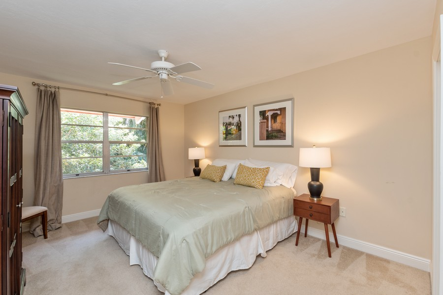 Real Estate Photography - 3200 Binnacle Drive, F3, Naples, FL, 34103 - Bedroom