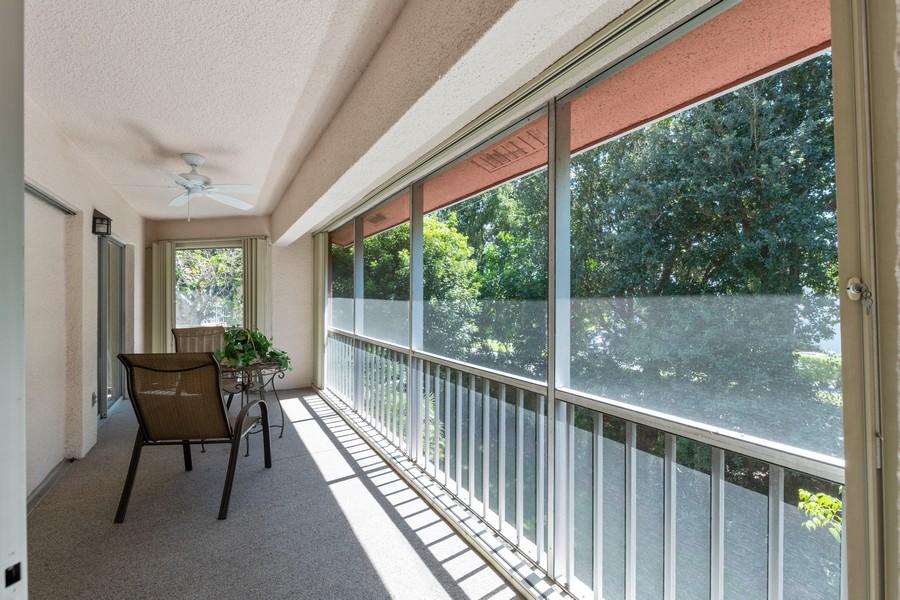 Real Estate Photography - 3200 Binnacle Drive, F3, Naples, FL, 34103 - Patio