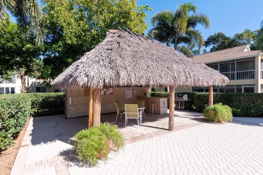 Real Estate Photography - 3200 Binnacle Drive, F3, Naples, FL, 34103 - Chickee Hut