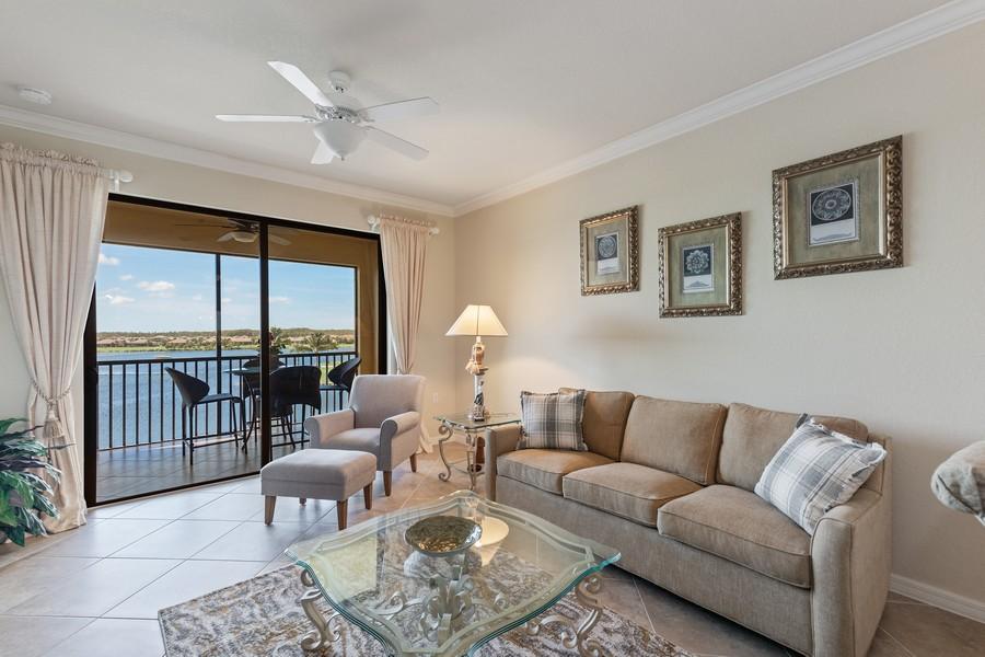 Real Estate Photography - 17921 Bonita National Blvd., 244, Bonita Springs, FL, 34135 - Living Room
