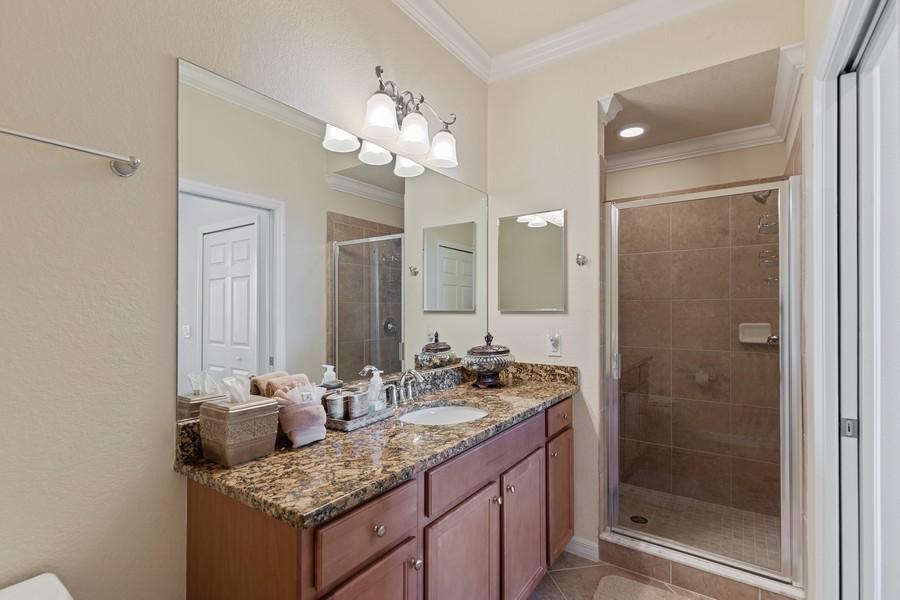 Real Estate Photography - 17921 Bonita National Blvd., 244, Bonita Springs, FL, 34135 - Master Bathroom