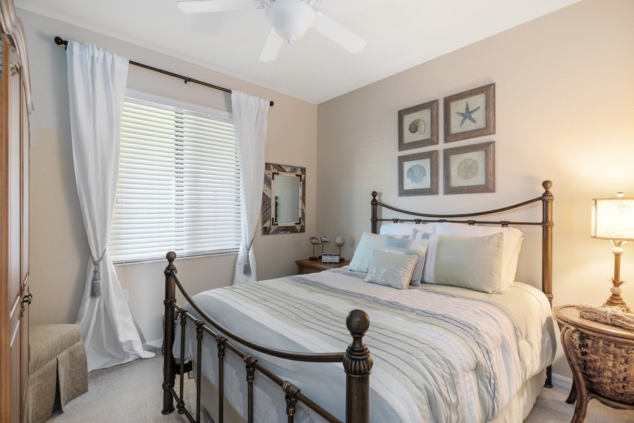 Real Estate Photography - 17921 Bonita National Blvd., 244, Bonita Springs, FL, 34135 - 2nd Bedroom