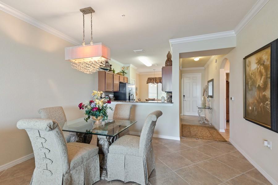 Real Estate Photography - 17921 Bonita National Blvd., 244, Bonita Springs, FL, 34135 - Dining Area