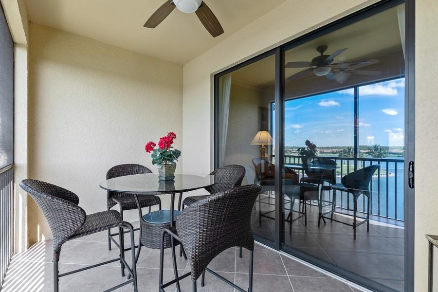 Real Estate Photography - 17921 Bonita National Blvd., 244, Bonita Springs, FL, 34135 - Lanai