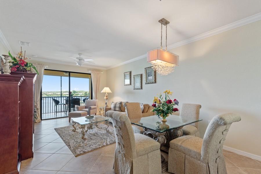 Real Estate Photography - 17921 Bonita National Blvd., 244, Bonita Springs, FL, 34135 - Living Room / Dining Room