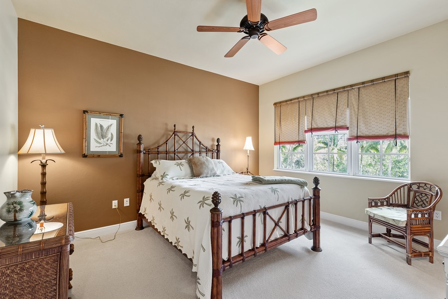 Real Estate Photography - 24011 Via Castella Dr., #2101, Bonita Springs, FL, 34134 - 3rd Bedroom