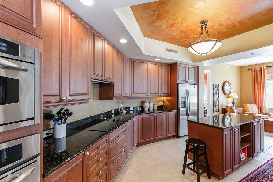 Real Estate Photography - 24011 Via Castella Dr., #2101, Bonita Springs, FL, 34134 - Kitchen